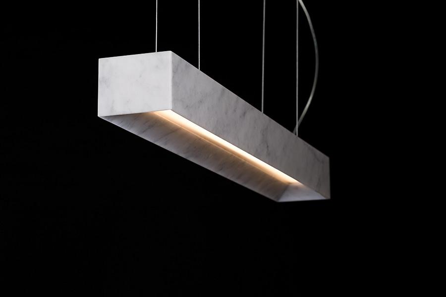 lampade in marmo