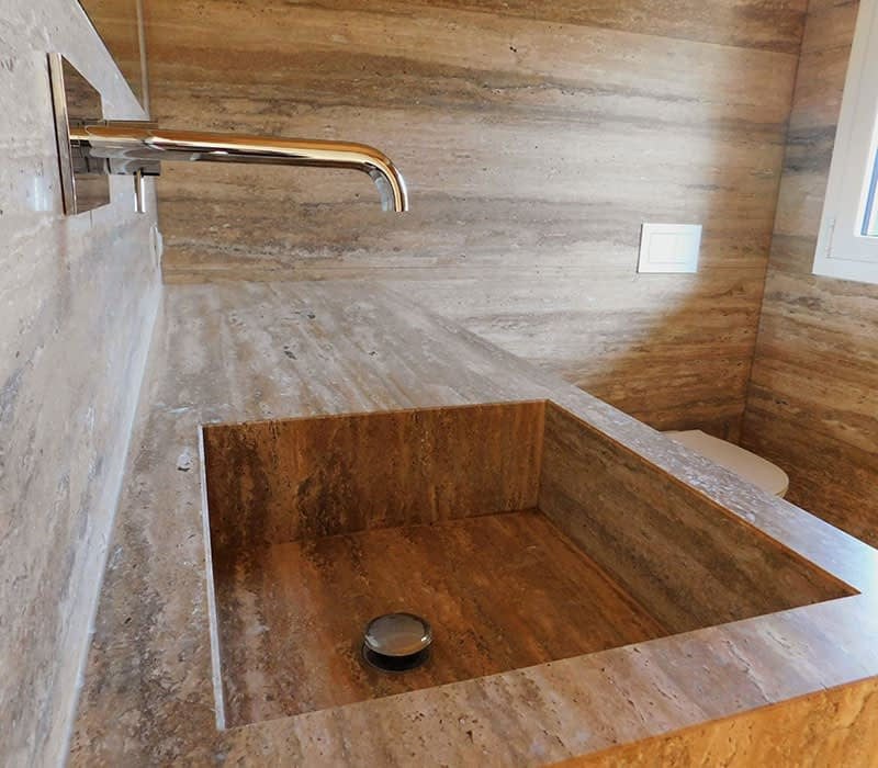 lavorazione-travertino-silver-lavabo