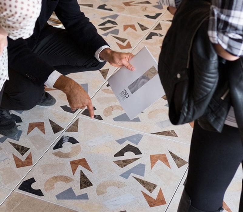 terrazzo alla veneziana personalizzabile