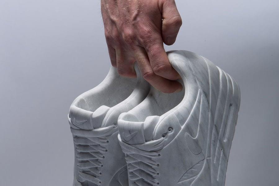 Alasdair Thomson Nike Air Max marmo
