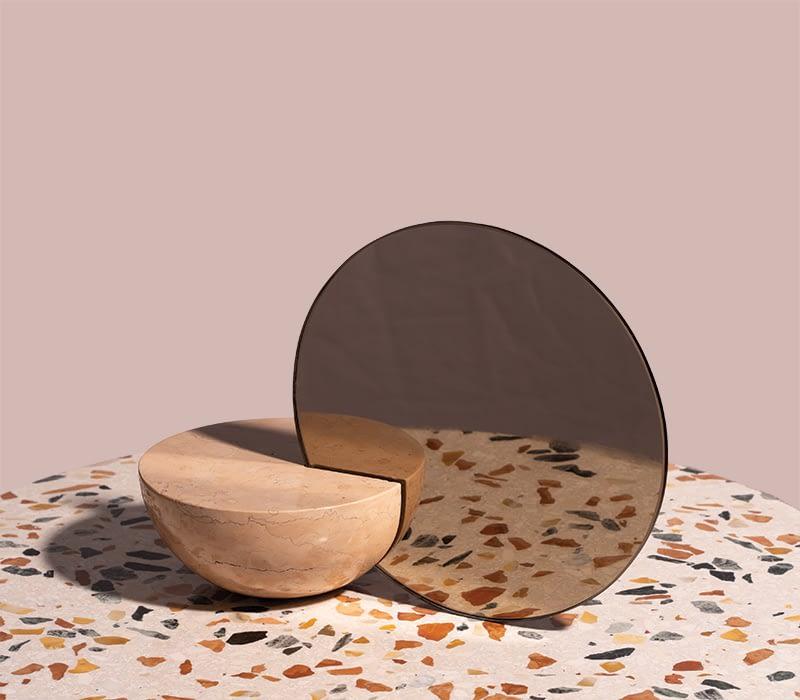 half-sphere-marble-mirror-charlotte-taylor