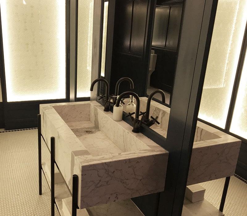lavabo de Statuarietto carrara barcelona